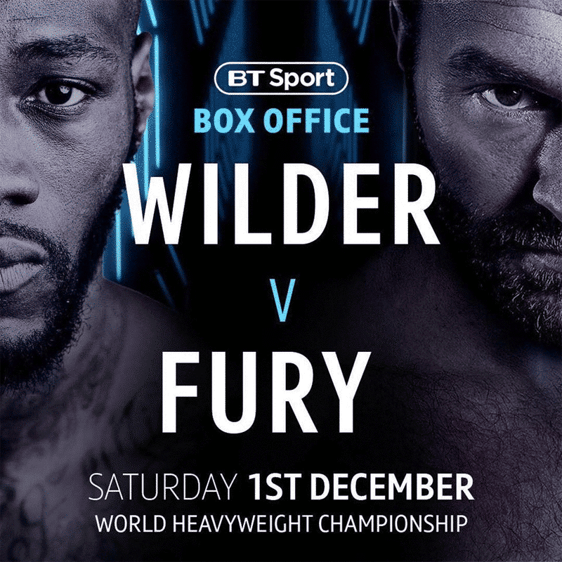 Tyson Fury Deontay Wilder Fight Date