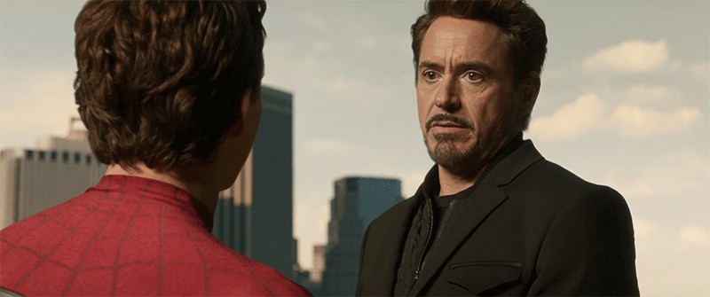 Robert Downey Jr Spider-Man Far From Home