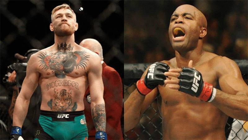 Anderson Silva vs Conor McGregor UFC