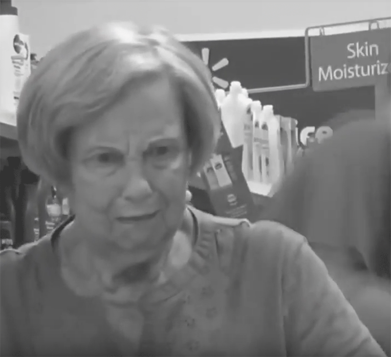 Old Lady Prank in Supermarket Shop