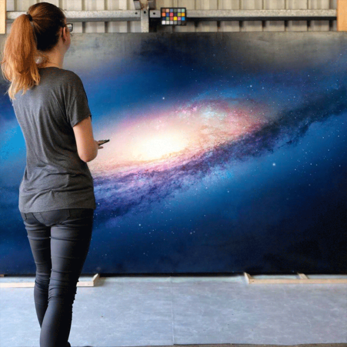 Realistic Space Art Paintings