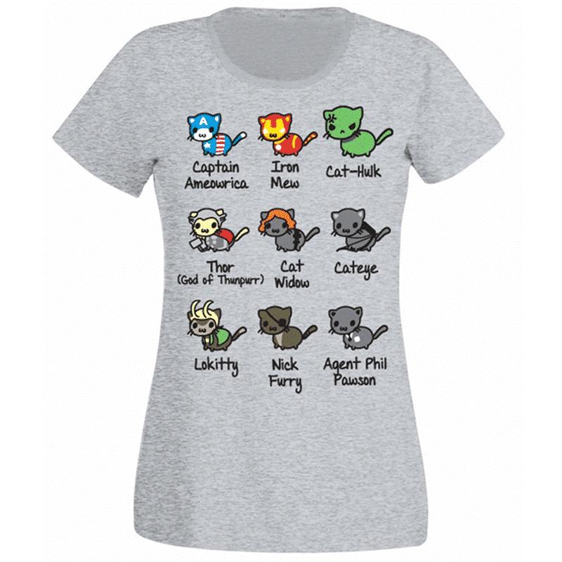 Avengers Cat T-Shirt