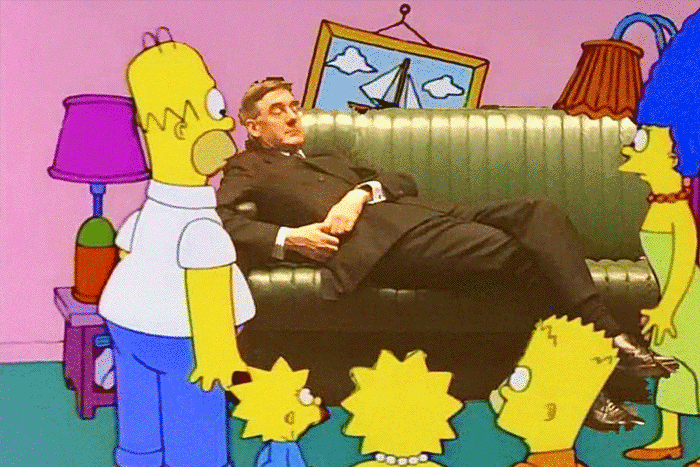 The Simpsons Jason Rees Mogg
